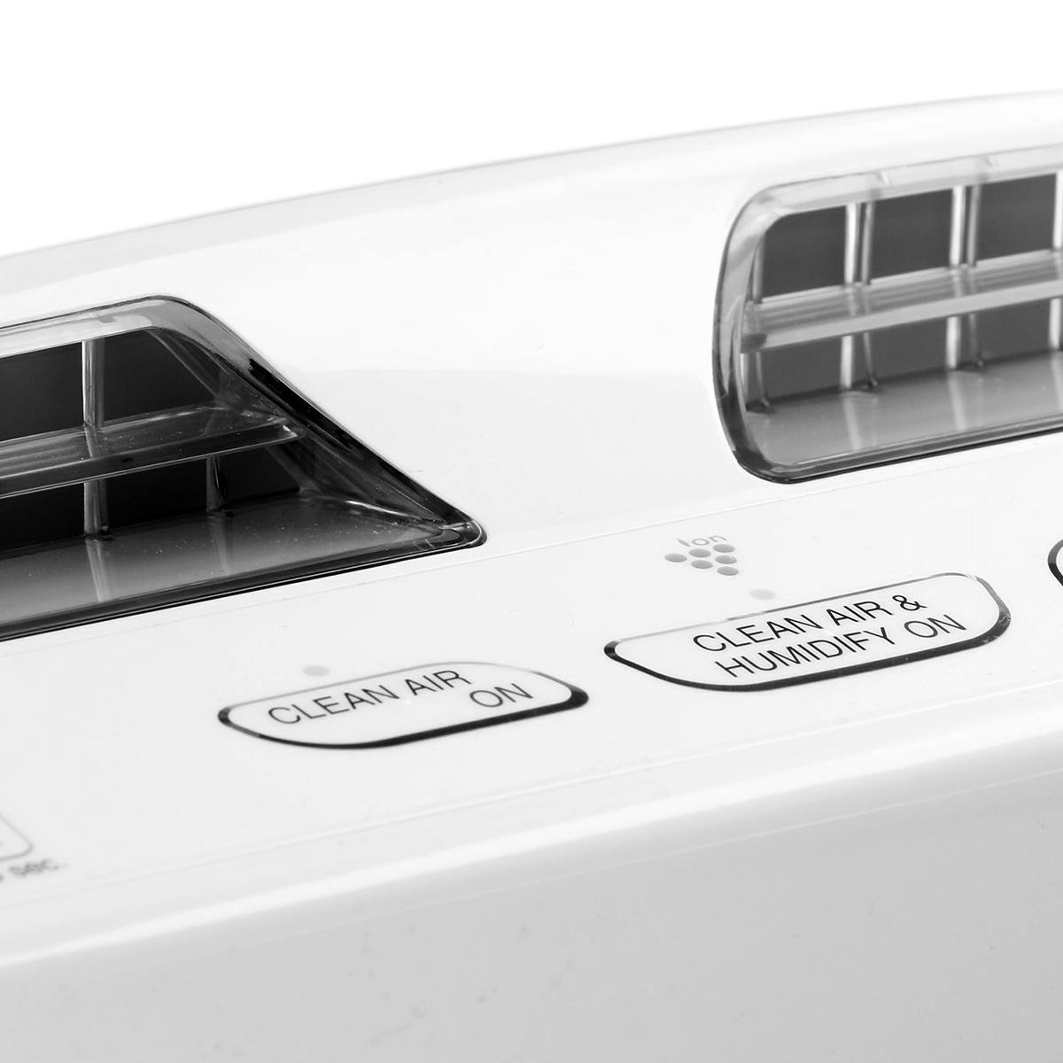 Sharp KC-A50EUW - panel sterowania - zbliżenie