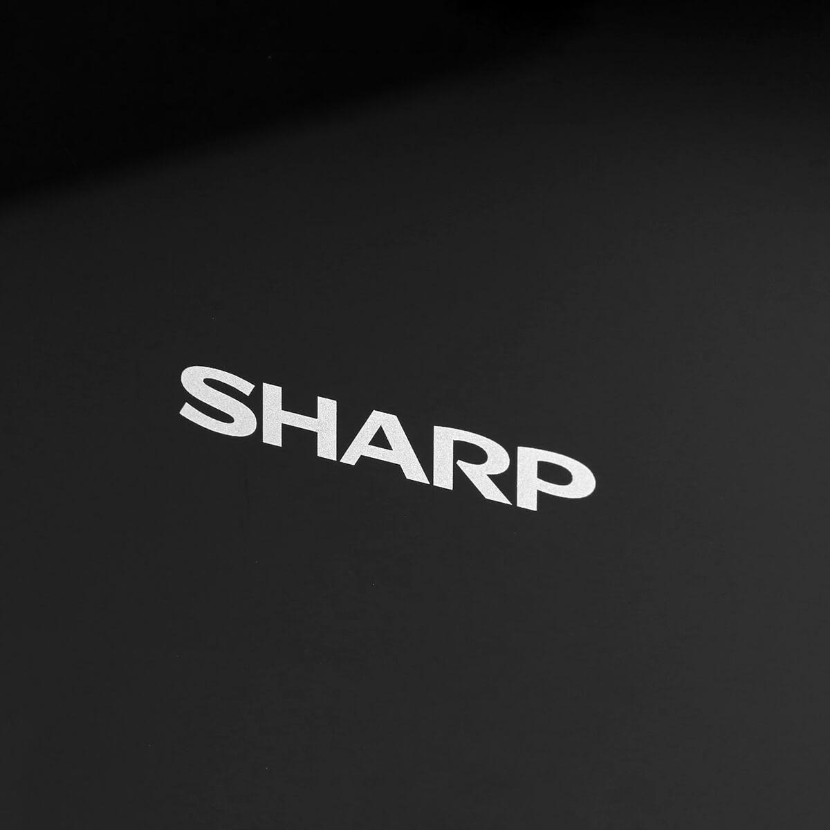 Sharp KC-D40EUB - logo Sharp