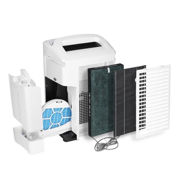Sharp KC-A50EUW - prezentacja filtrów