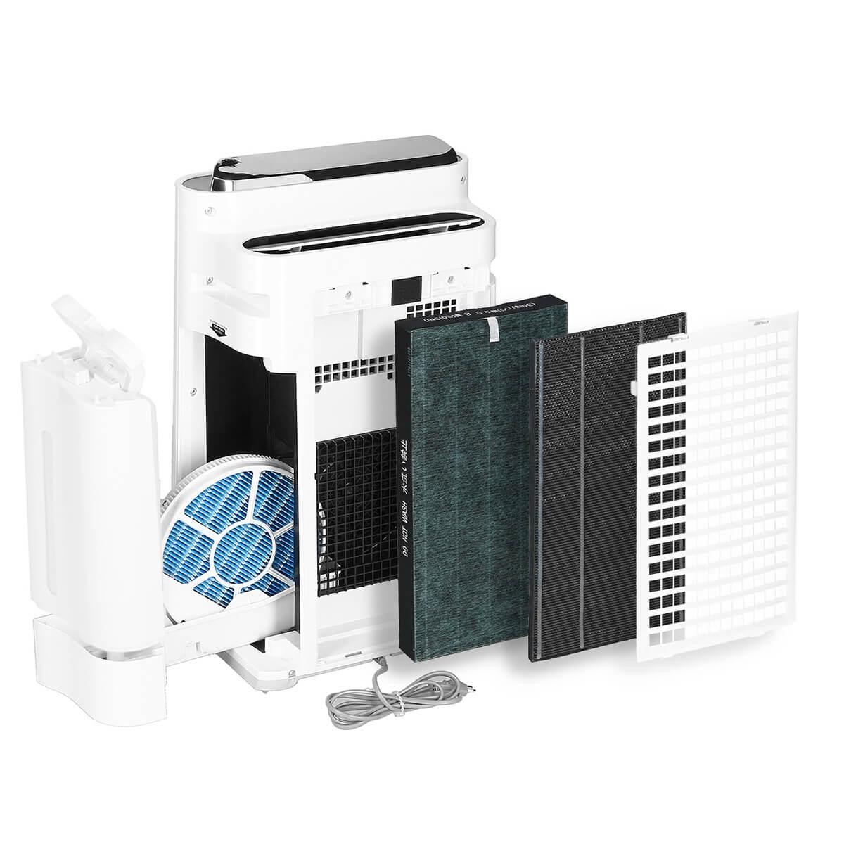 Sharp KC-D60EUW - prezentacja filtrów