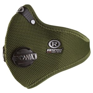 Maska antysmowa Respro ULTRALIGHT green