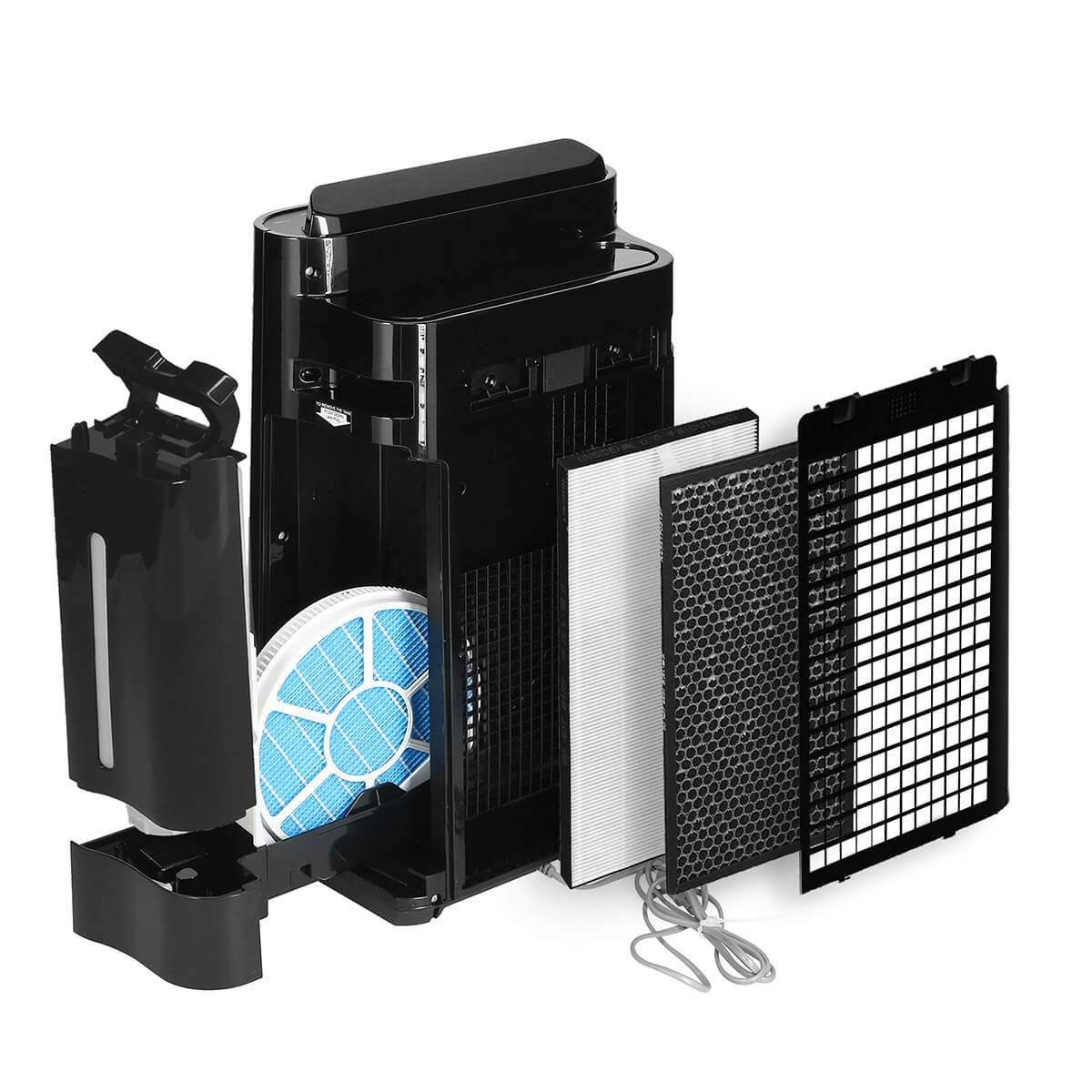 Sharp KC-D40EUB - prezentacja filtrów