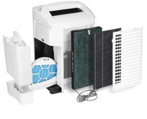 Sharp KC-A50EUW filtry