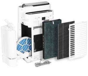 Sharp KC-D50EUW filtry