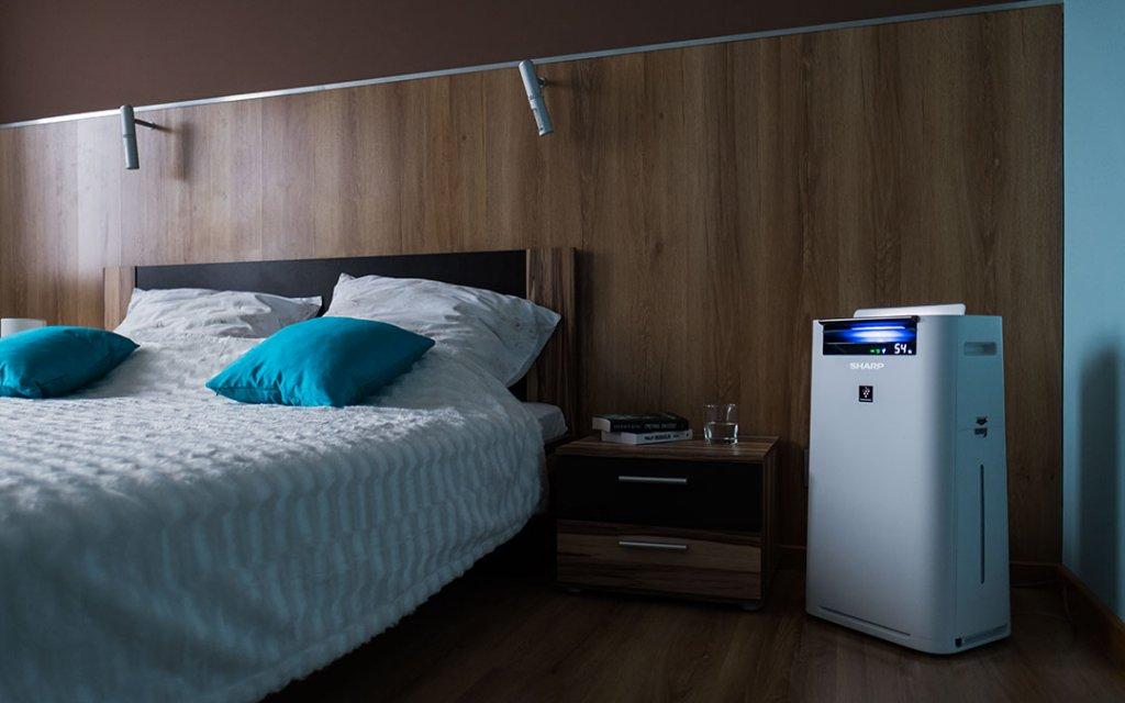 Oczyszczacz powietrza a powierzchnia pomieszczenia