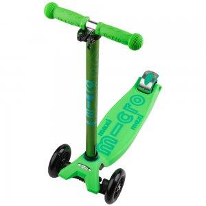 Maxi Micro Deluxe Hulajnoga Zielona wygląd