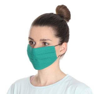 Maseczki ochronne wielorazowe EcoMed 10 szt. Certyfikat OEKO-TEX